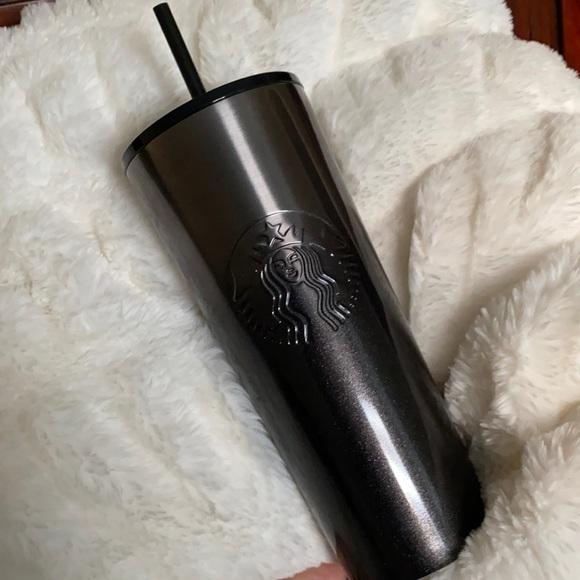 Starbucks Ombre Black Glitter Venti Tumbler